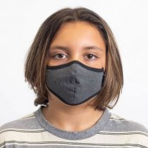Youth Antimicrobial Cotton Blend Face Cover alternate view 2