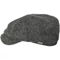 Classic Shetland Wool Herringbone Newsboy Cap alternate view 103