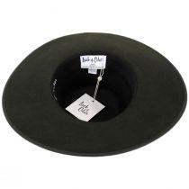 Rancher Forest Green Wool Felt Fedora Hat alternate view 10