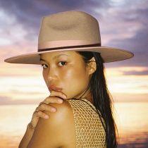 Rancher Caramel Wool Felt Fedora Hat alternate view 6
