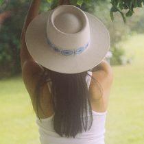 Lolita Wool Felt Boater Hat alternate view 6