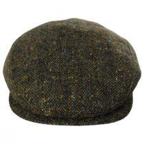 Magee Dark Green Tweed Lambswool Ivy Cap alternate view 2
