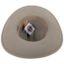 Chisolm Natural Crushable Wool Litefelt Cattlemen Western Hat alternate view 4