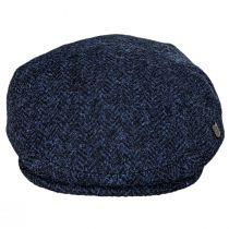 Harris Tweed Herringbone Wool Ivy Cap alternate view 6