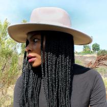 Colorado Ultra Wide Brim Wool Felt Fedora Hat alternate view 16