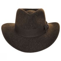 Officially Licensed Timary Crushable ProvatoKnit Safari Fedora Hat alternate view 2