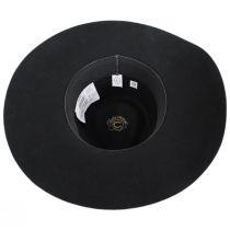 Highway Wide Brim Wool Felt Fedora Hat alternate view 4