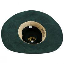 Highway Wide Brim Wool Felt Fedora Hat alternate view 9