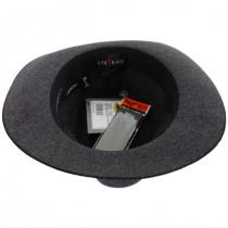 Gabriel Crushable Wool Felt Fedora Hat alternate view 4