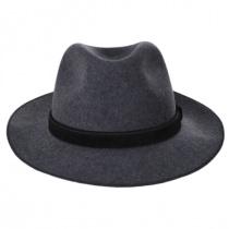 Gabriel Crushable Wool Felt Fedora Hat alternate view 12