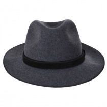 Gabriel Crushable Wool Felt Fedora Hat alternate view 32