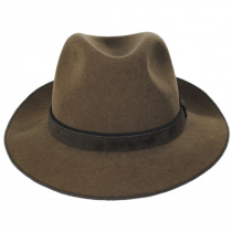 Gabriel Crushable Wool Felt Fedora Hat alternate view 7
