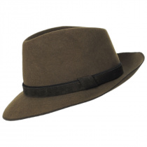 Gabriel Crushable Wool Felt Fedora Hat alternate view 23