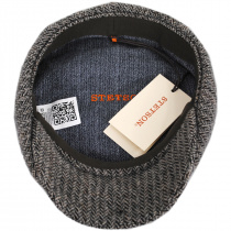 Hatteras Herringbone Wool Newsboy Cap alternate view 4