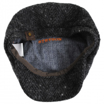 Hatteras Big Herringbone Wool Newsboy Cap alternate view 4