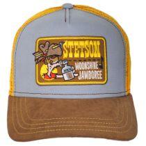 Moonshine Jamboree Cotton Trucker Snapback Baseball Cap alternate view 2