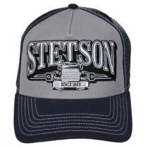Big Rig Cotton Trucker Snapback Baseball Cap alternate view 2