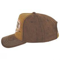 Stetson Longhorn Cotton Snapback Baseball Cap alternate view 3