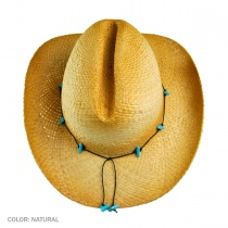 Calamity Straw Cattleman Western Hat alternate view 5