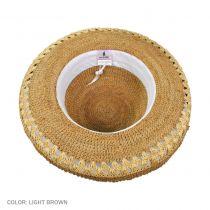 Crochet Raffia Sun Hat