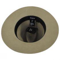 Wesley Light Tan Wool Felt Fedora Hat alternate view 10