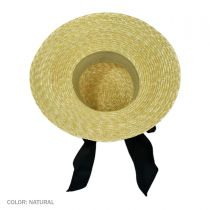 Milan Straw Boater Sun Hat alternate view 7