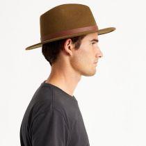 Fender Refugee Wool Felt Fedora Hat alternate view 6