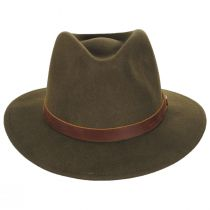 Fender Refugee Wool Felt Fedora Hat alternate view 2