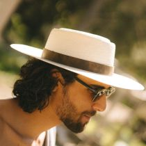 L'amour Buckaroo Toyo Straw Gambler Hat alternate view 23