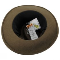 Slope Earflap Wool Felt Fedora Hat alternate view 5