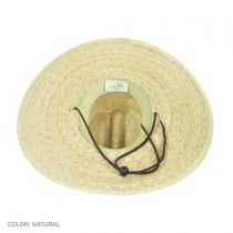 Lifeguard Palm Straw Hat in