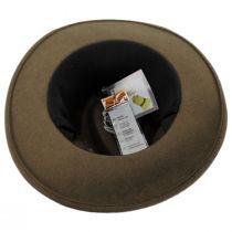 Slope Earflap Wool Felt Fedora Hat alternate view 15