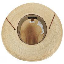 Calhoun Palm Straw Gus Western Hat alternate view 4