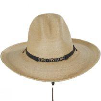 Calhoun Palm Straw Gus Western Hat alternate view 2