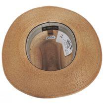 Amber Run Palm Straw Western Hat alternate view 4