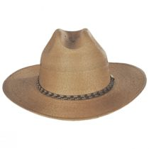 Amber Run Palm Straw Western Hat alternate view 6