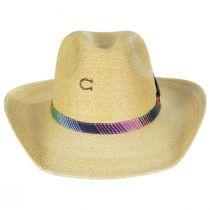 Poncho Palm Straw Western Hat alternate view 2
