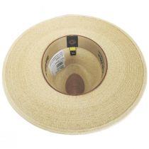 Lefty Palm Straw Fedora Hat alternate view 4