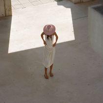 Rancher Pink Wool Felt Fedora Hat alternate view 6