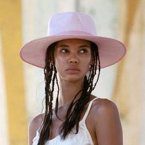 Rancher Pink Wool Felt Fedora Hat alternate view 14