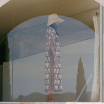 The Cove Raffia Straw Sun Hat alternate view 6