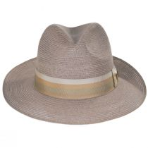 Side Eye Hemp Straw Fedora Hat alternate view 2