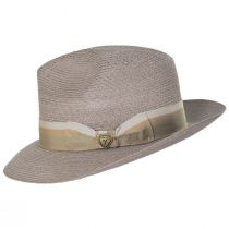 Side Eye Hemp Straw Fedora Hat alternate view 3