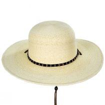 Klondike Palm Straw Open Crown Western Hat alternate view 2