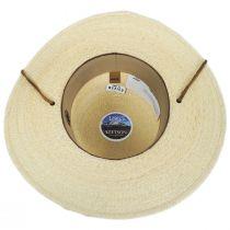 Klondike Palm Straw Open Crown Western Hat alternate view 4