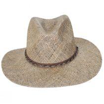 Dunraven Seagrass Straw Fedora Hat alternate view 2