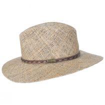 Dunraven Seagrass Straw Fedora Hat alternate view 15