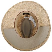 Dunraven Seagrass Straw Fedora Hat alternate view 16