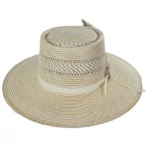 Batterson Shantung Straw Gambler Hat alternate view 2