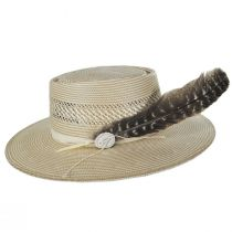 Batterson Shantung Straw Gambler Hat alternate view 3
